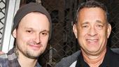 THe Last Ship - Backstage - 10/14 - Jeremy Woodard - Tom Hanks