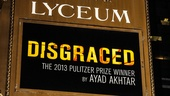 Disgraced - Opening - 10/14 - marquee