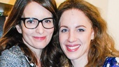 Beautiful: The Carole King Musical - Backstage - 12/14 - Tina Fey - Jessie Mueller