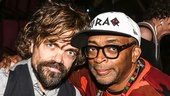 Hamilton - Opening - 8/15 - Peter Dinklage and Spike Lee