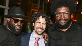 Hamilton - Opening - 8/15 - Alex Lacamoire - Black Thought and Questlove