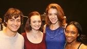 Spring Awakening - Meet the Press - 8/15 - Sean Grandillo, Amelia Hensley, Lauren Luiz and Treshelle Edmond