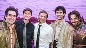 Something Rotten! - Backstage - 9/15 -  Brian d'Arcy James, Neil Patrick Harris, John Cariani, Christian Borle