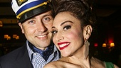 Dames at Sea - opening - 10/15 - Lesli Margherita and husband Daniel Ruben Stafford