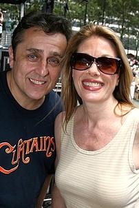 Photo Op - Broadway in Bryant Park 07-26-07 - Michael McCormick - Marin Mazzie