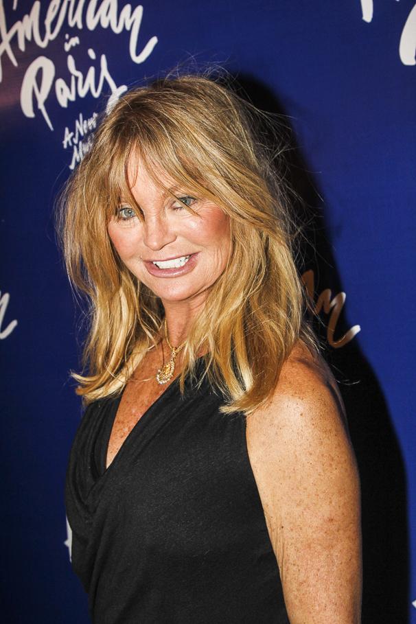 An American in Paris - opening - 4/15 - Goldie Hawn