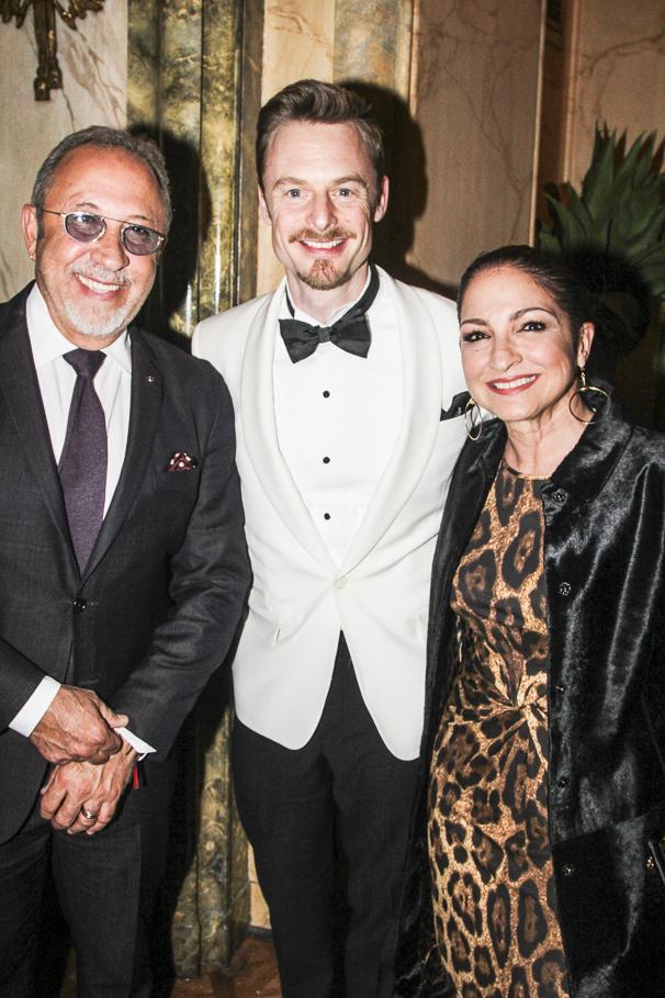 An American in Paris - opening - 4/15 - Emilio Estefan- Christopher Wheeldon - Gloria Estefan