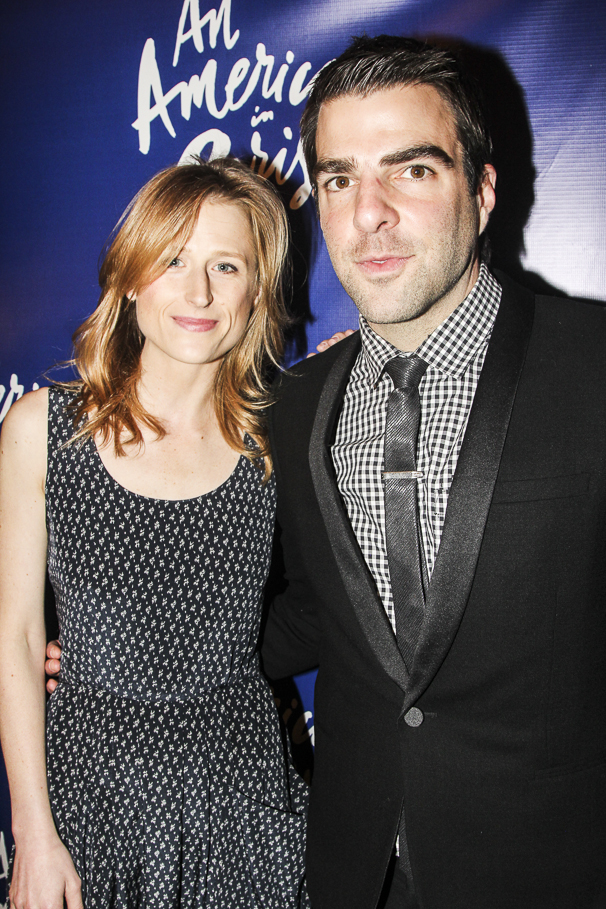 An American in Paris - opening - 4/15 - Mamie Gummer - Zachary Quinto
