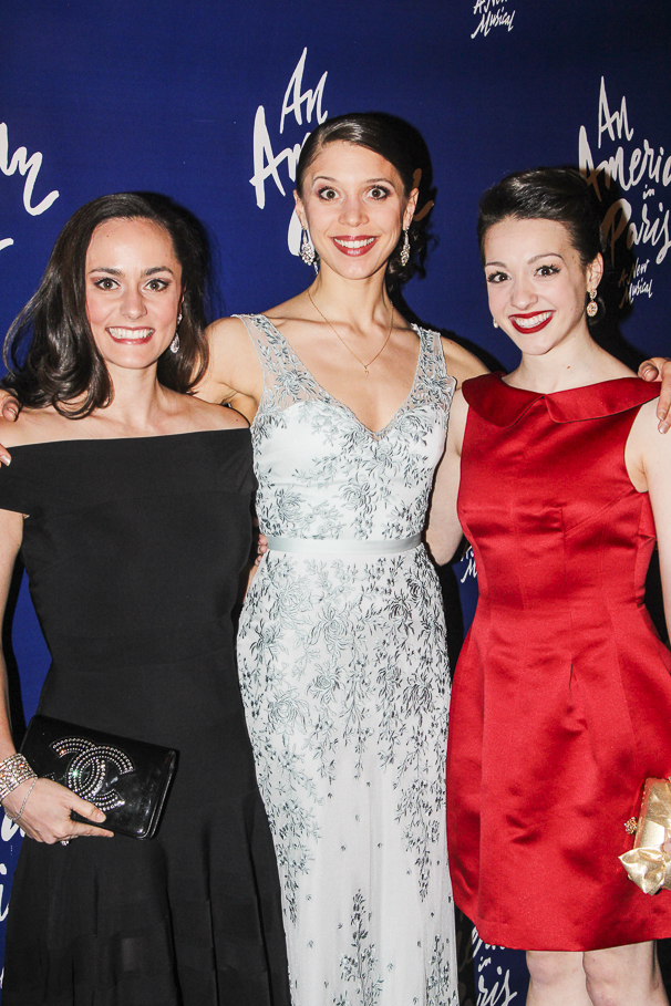 An American in Paris - opening - 4/15 - Ashley Dupre - Caitlin Abraham - Gia Mongell