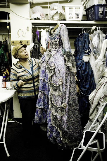 Day in the Life of Phantom of the Opera – dresser