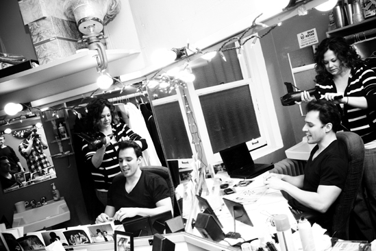 Day in the Life of Phantom of the Opera – Ryan Silverman (hair)