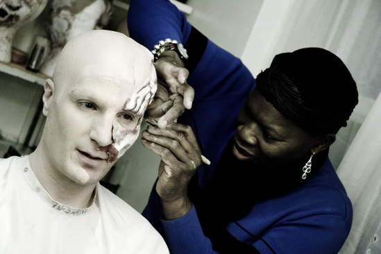 Day in the Life of Phantom of the Opera – John Cudia (makeup)