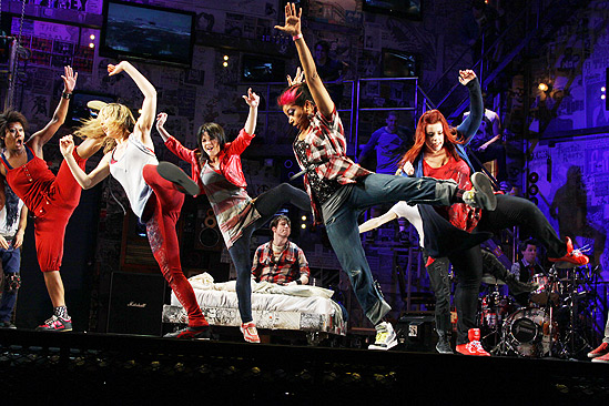 American Idiot Sound Check - Girls Dancing