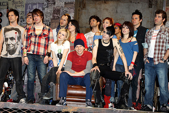 American Idiot Sound Check - Cast Stage Left