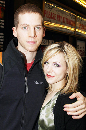 American Idiot Sound Check - Stark Sands - Mary Faber