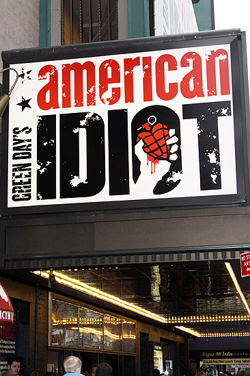 American Idiot Sound Check - Marquee