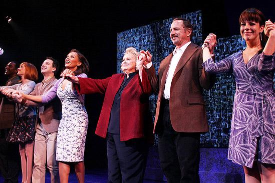 Sondheim on Sondheim Opening Night – cast