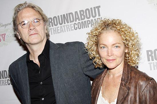 Sondheim on Sondheim Opening Night – Amy Irving – husband Ken