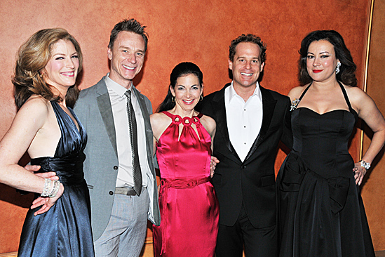 Don't Dress For Dinner – Opening Night – Patricia Kalember – Ben Daniels – Spencer Kayden – Adam James – Jennifer Tilly
