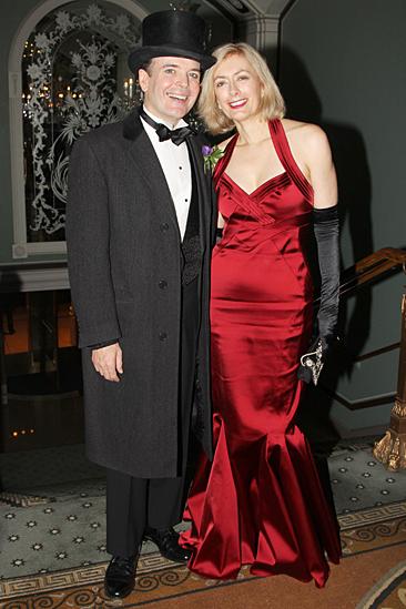 Gentleman's Guide opening night – Jefferson Mays – Susan Lyons