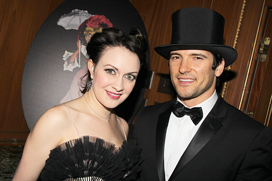 Gentleman's Guide opening night – Catherine Walker – husband Jacques