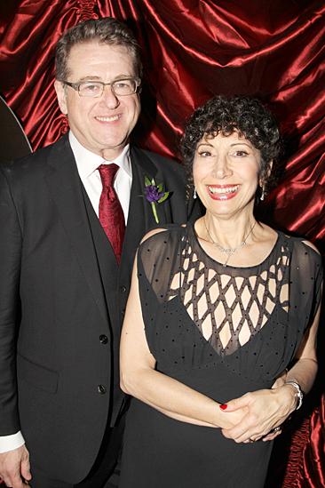 Gentleman's Guide opening night – Robert L Freedman – wife Jean Kauffman