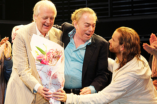 Jesus Christ Superstar opening night – Andrew Lloyd Webber – Josh Young – Tim Rice – Des McAnuff