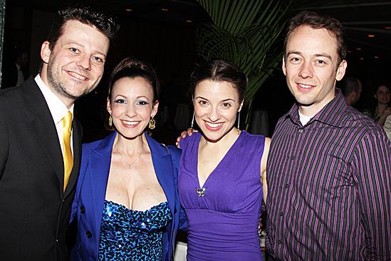 Jesus Christ Superstar opening night – Jeremy Kushnier – Jenny Lee Stern – Jenn Gambatese and husband