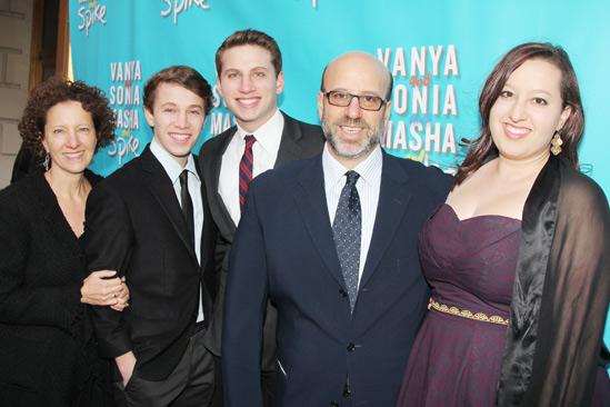 'Vanya and Sonia and Masha and Spike' Opening — Larry Hirschhorn