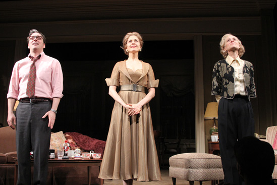 The Assembled Parties – Opening Night – Jeremy Shamos – Jessica Hecht – Judith Light