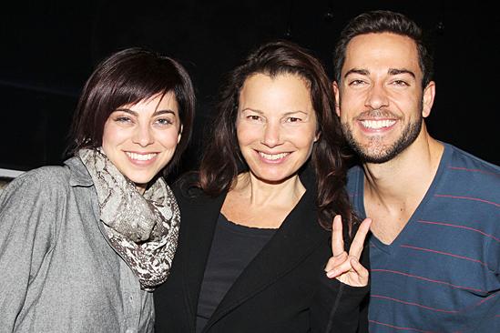 Fran Drescher at 'First Date' — Krysta Rodriguez — Fran Drescher — Zachary Levi