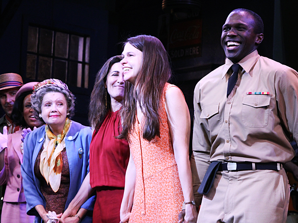 Violet Broadway opening -  cc - Jeanine Tesori - cast