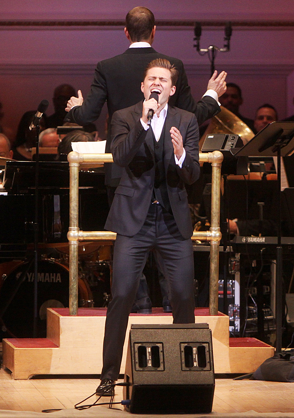New York Pops Gala - Honoring Marc Shaiman and Scott Wittman - OP - 4/14 - Aaron Tveit