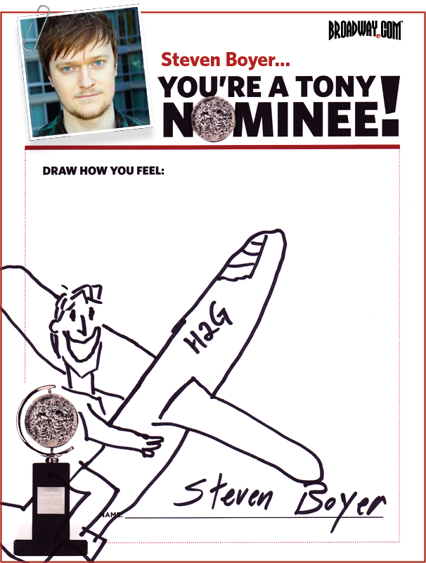 Tony Nominee Drawings – 2015 – Steven Boyer