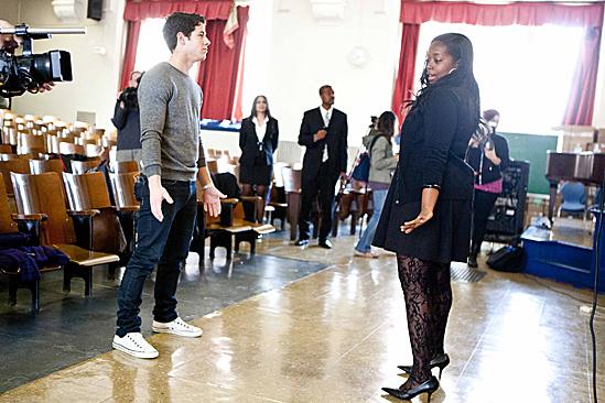 How to Succeed – Nick Jonas School Visit – teacher