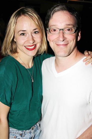 Clybourne Park 100 Performances – Sarah Goldberg – Jeremy Shamos