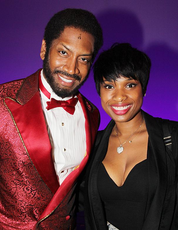 Motown - Jennifer Hudson Visit - OP - 4/14 - Bryan Terrell Clark - Jennifer Hudson