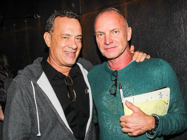 THe Last Ship - Backstage - 10/14 - Tom Hanks - Sting