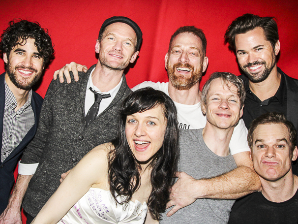 Hedwig and the Angry Inch - Lena Hall - Final Show - 4/15 - Darren Criss - Neil Patrick Harris - Lena Hall - David Binder - John Cameron Mitchell - Andrew Rannells - Michael C. Hall