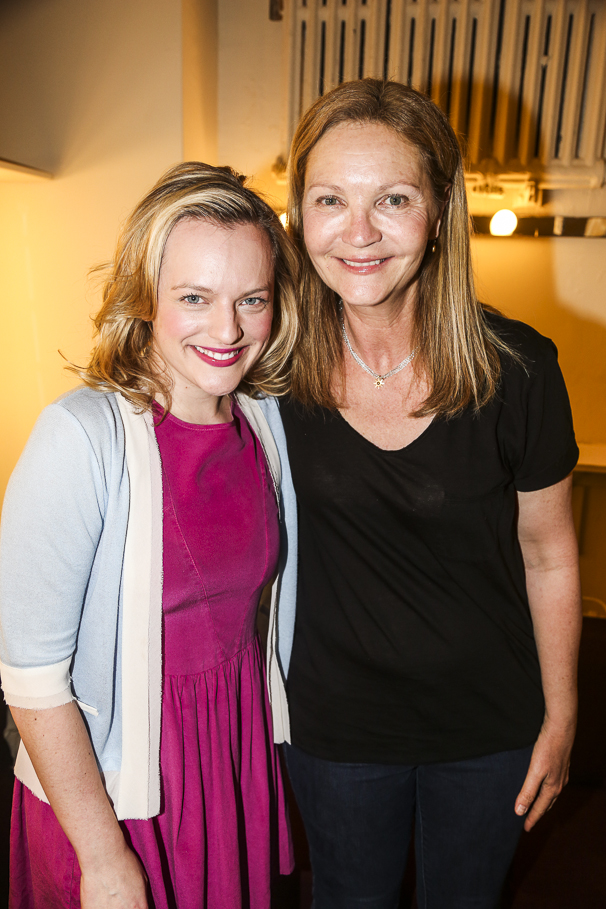 The Heidi Chronicles - Backstage - Original Cast - 4/15 - Elisabeth Moss - Joan Allen