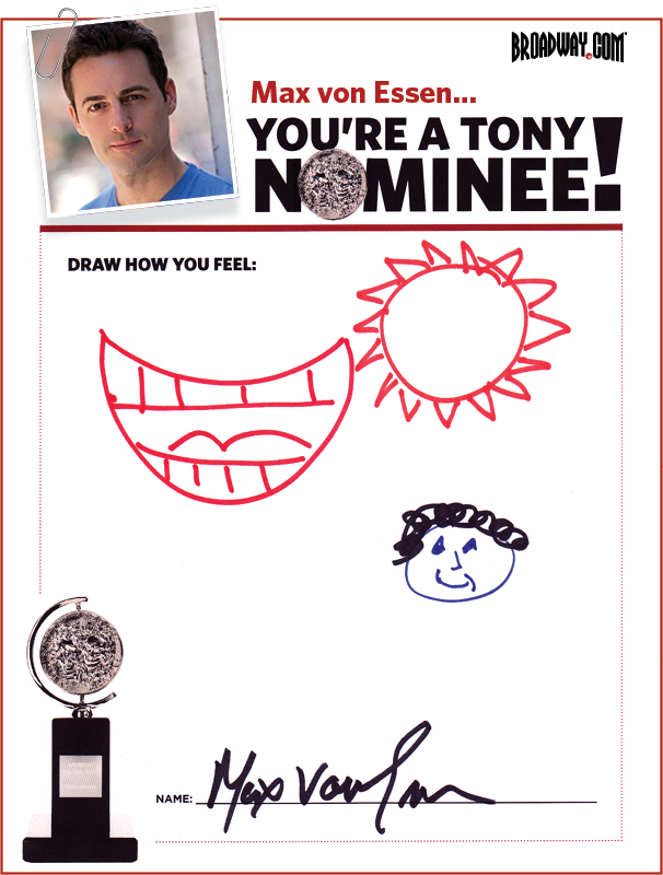 Tony Nominee Drawings – 2015 – Max von Essen