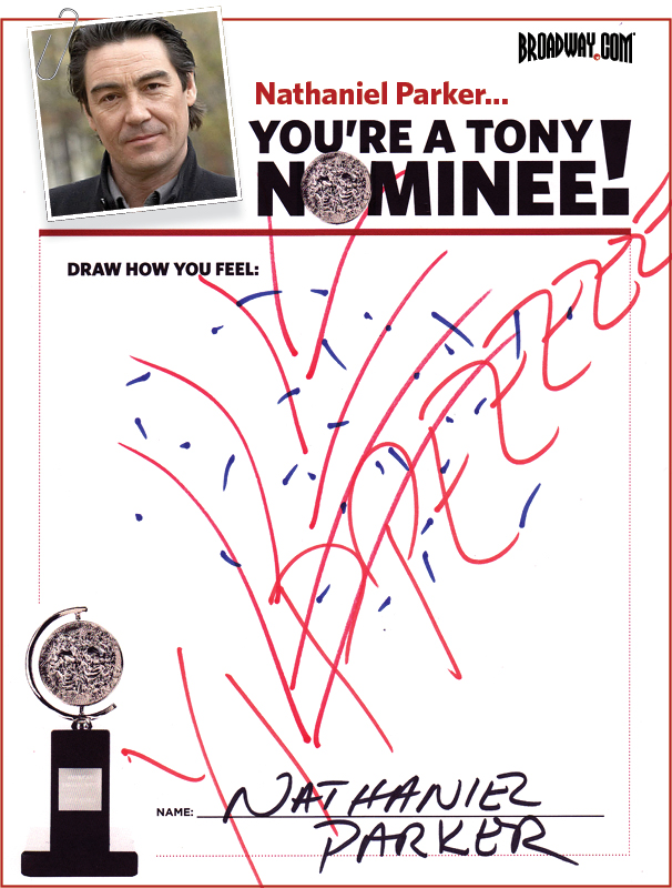 Tony Nominee Drawings – 2015 – Nathaniel Parker