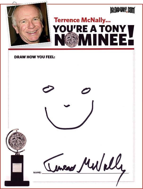 Tony Nominee Drawings – 2015 – Terrence McNally