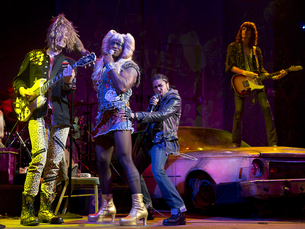 Hedwig and the Angry Inch - Show Photos - PS - 4/15 - Taye Diggs