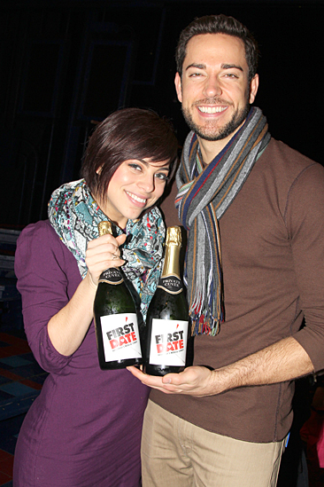First Date – 100th Performance – Krysta Rodriguez – Zachary Levi
