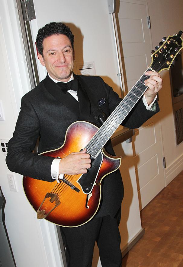 New York Pops Gala - Honoring Marc Shaiman and Scott Wittman - OP - 4/14 - John Pizzarelli