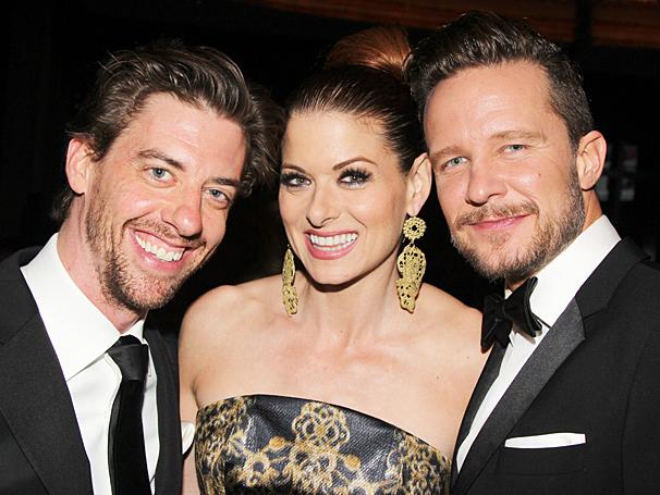 New York Pops Gala - Honoring Marc Shaiman and Scott Wittman - OP - 4/14 - Christian Borle - Debra Messing - Will Chase