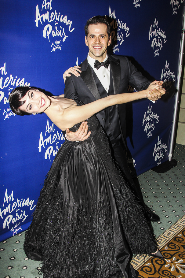 An American in Paris - opening - 4/15 - Leanne Cope - Robert Fairchild