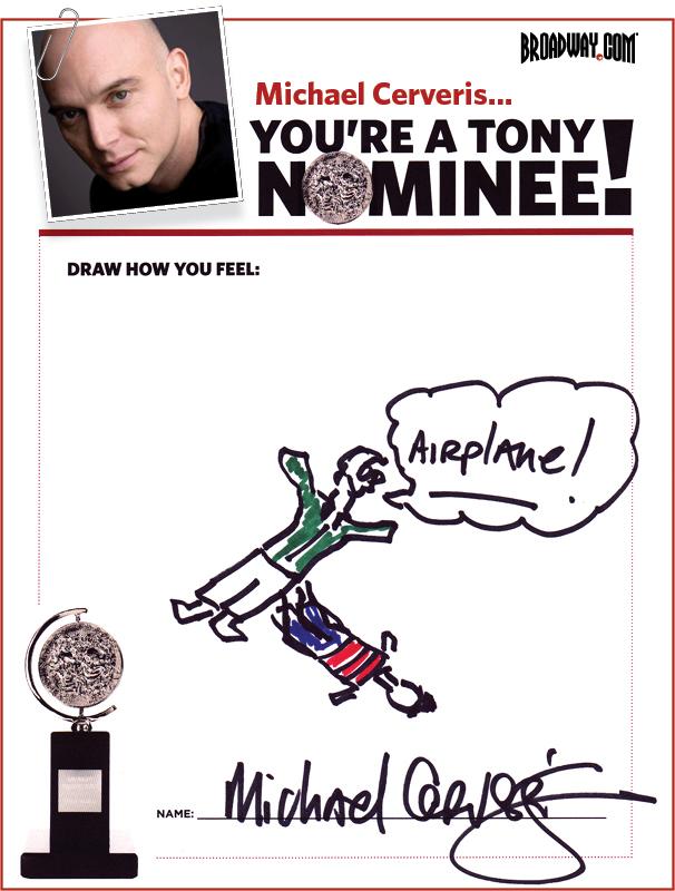 Tony Nominee Drawings – 2015 – Michael Cerveris