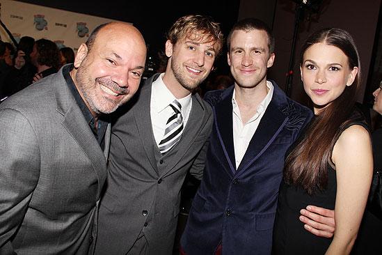 2011 Audience Choice Awards – Casey Nicholaw – Josh Marquette – Gavin Creel – Sutton Foster